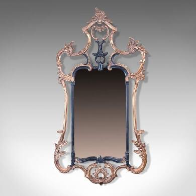 Espejos Victorianos de forja elegante decorativo estilo rococo