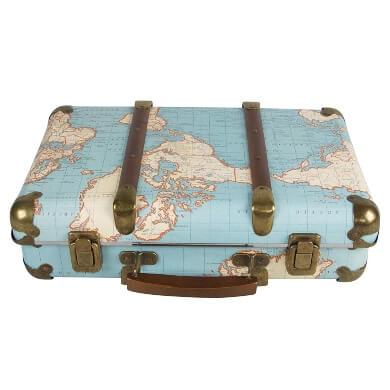 maleta vintage retro moda estilo complemento