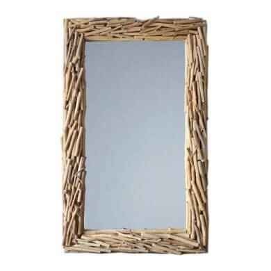 marco espejo decorativo rustico estilo natural