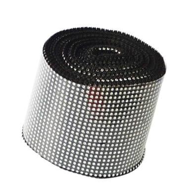rollo cinta diamante imitacion sintetico cuentas de cristal