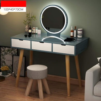 tocadores de diseño espejos led cajones taburete madera calidad diseño lujo precios económicos rebajas plazos envio gratis